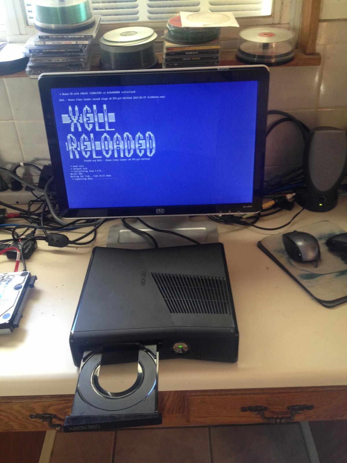 Xbox 360 Slim 4gb XBOX 360 RGH SLIM 4GB ...