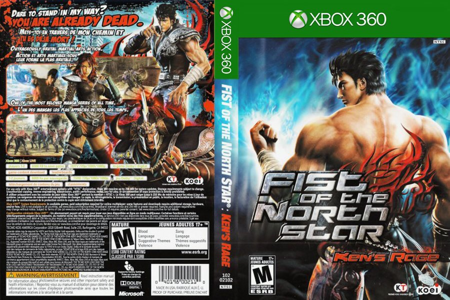 Fist Of The North Star_ Ken's Rage (Cover).jpg